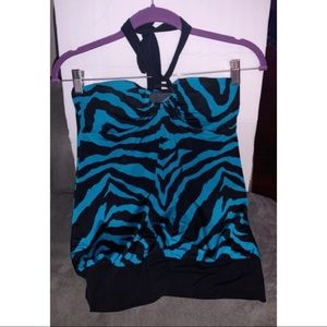 Girl's Zebra Top